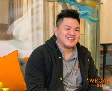 像元皓一樣,在WECARE.康世維牙醫美學診所替您訂製宛如25歲最自信的「滿意微笑」。