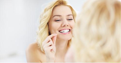 牙齒矯正者更要使用!居家口腔護理專欄-牙線篇示意圖